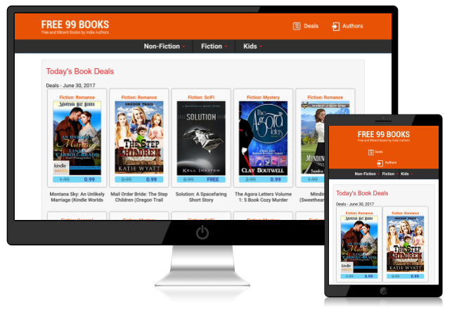 Author Promotion Website