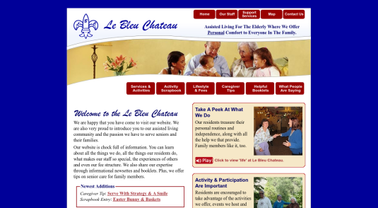 Assisted Living Website