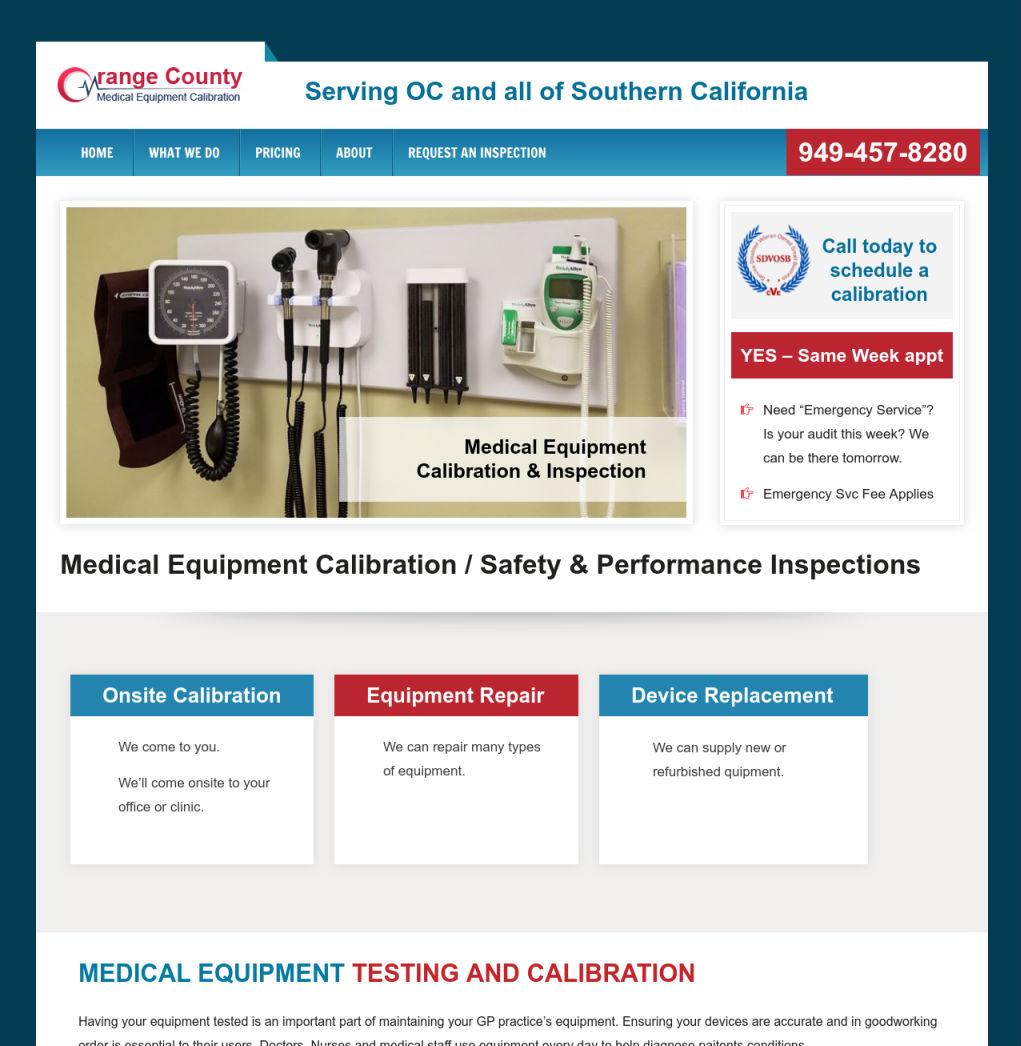 OC Medical Calibration
